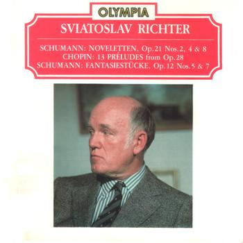 Sviatoslav Richter (piano) - R.Schumann, F.Chopin