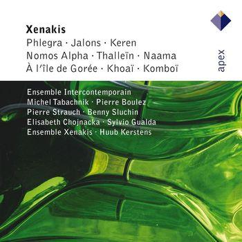 Iannis Xenakis - Xenakis : Phlegra, Jalons, Keren, Nomos Alpha, Thallein, Naama , A L'Ile de Gorée, Khoaï & Komboï