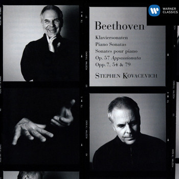Stephen Kovacevich - Beethoven : Piano Sonatas Opp 57/54/79/7