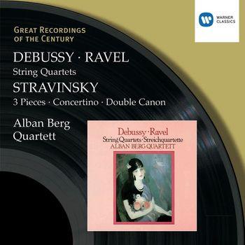 Alban Berg Quartett - Debussy & Ravel: String Quartets & Stravinsky: 3 Pieces, Concertino & Double Canon