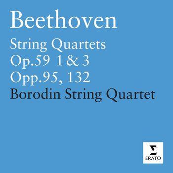 Borodin Quartet - Beethoven: String Quartets Op.59 1 & 3 ' Razumovsky' - Op.95 - Op.102