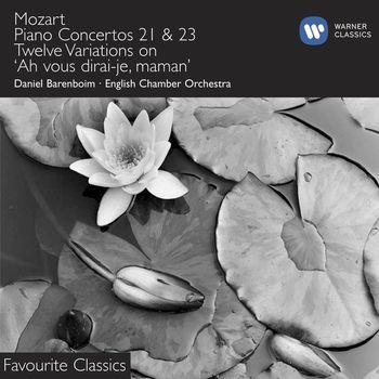 Daniel Barenboim/English Chamber Orchestra - Mozart: Piano Concertos Nos. 21 & 23