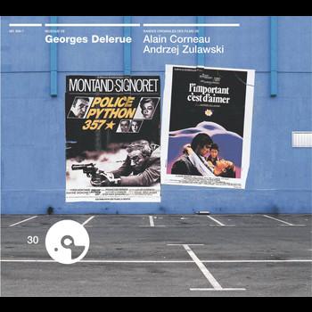Georges Delerue - Police Python 357 / L'Important C'Est D'Aimer/Paul Gaugu In/ Malpertuis / Jamais Plus Toujours