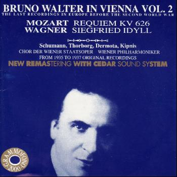 Bruno Walter - Bruno Walter in Vienna Vol. 2 - The Last Recordings in Europe Before the Second World War