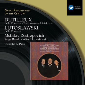 Mstislav Rostropovich - Dutilleux & Lutoslawski: Cello Concertos