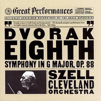 George Szell - Dvorák:  Symphony No. 8