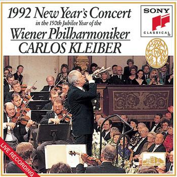 Carlos Kleiber & Wiener Philharmoniker - New Year's Concert 1992  (In the 150th Jubilee Year of the Wiener Philharmoniker)