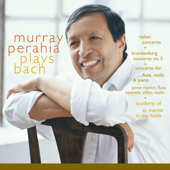 Murray Perahia - Murray Perahia Plays Bach:  Italian Concerto, BWV 971; Brandenburg Concerto No 5, BWV 1050; Concerto for flute, violin, harpsichord, BWV 1044