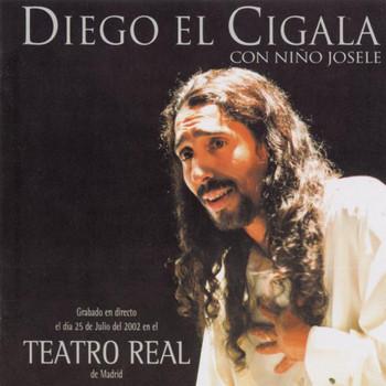 """Diego """"El Cigala"""" - Diego El Cigala Y Niño Josele - Teatro Real"""