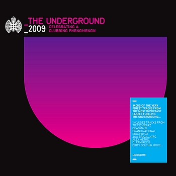 Ministry of Sound - The Underground 2009
