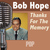 Bob Hope - Thanks for the Memory