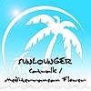 Sunlounger - Mediterrnean Flower - Catwalk