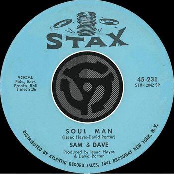 Sam & Dave - Soul Man / May I Baby [Digital 45]