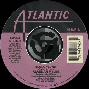 Alannah Myles - Black Velvet / If You Want To [Digital 45]