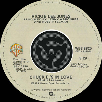 Rickie Lee Jones - Chuck E's In Love / On Saturday Afternoons In 1963 [Digital 45]