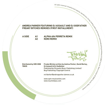Andrea Parker featuring DJ Assault and DJ Godfather - Freaky Bitches Remixes (first installment)