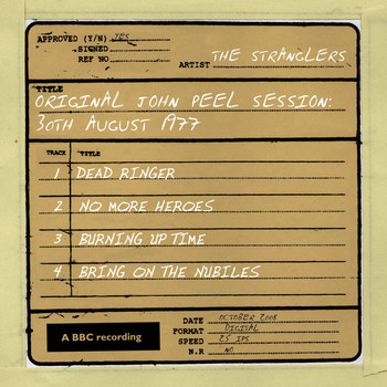 The Stranglers - Original John Peel Session: 30th August 1977