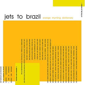 Jets To Brazil - Orange Rhyming Dictionary