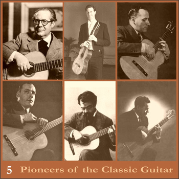 Andrés Segovia - Pioneers of the Classic Guitar, Volume 5 - Recordings 1949-1955