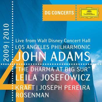 John Adams / Los Angeles Philharmonic / Joseph Pereira / Leila Josefowicz - Adams: The Dharma at Big Sur / Kraft: Timpani Concerto No.1 / Rosenman: Suite from Rebel Without a Cause