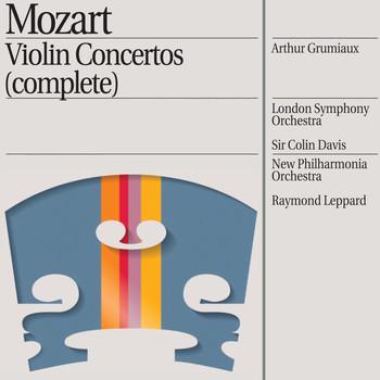 Raymond Leppard / Sir Colin Davis / London Symphony Orchestra / New Philharmonia Orchestra / Arthur Grumiaux - Mozart: Violin Concertos Nos. 1/5 etc.