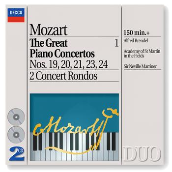 Sir Neville Marriner / Academy of St. Martin in the Fields / Alfred Brendel - Mozart: The Great Piano Concertos, Vol.1
