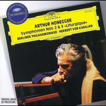 Herbert von Karajan / Berliner Philharmoniker - Honegger: Symphonies Nos.2 & 3 / Stravinsky: Concerto in D for String Orchestra