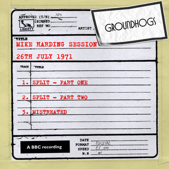 The Groundhogs - Mike Harding Session (26th July 1971)
