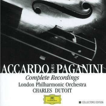 Charles Dutoit / London Philharmonic Orchestra / Salvatore Accardo - Accardo Plays Paganini- Complete Recordings