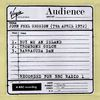 Audience - John Peel Session (7th April 1972)