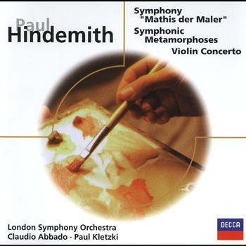Various Artists - Hindemith: Violin Concerto/Mathis der Maler/Symphonic Metamorphoses