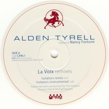 Alden Tyrell - La Voix Remixes