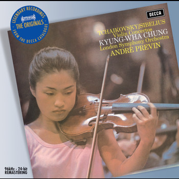 André Previn / London Symphony Orchestra / Kyung Wha Chung - Tchaikovsky/Sibelius: Violin Concertos