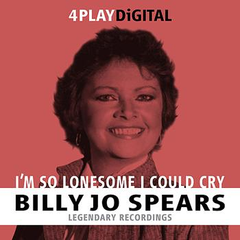 Billie Jo Spears - I'm So Lonesome I Could Cry - 4 Track EP