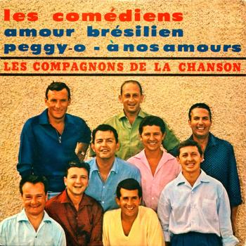 Les Compagnons De La Chanson - Les Comediens - EP