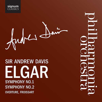 Philharmonia Orchestra with Sir Andrew Davis - Symphonies 1, 2 and Froissart Overture