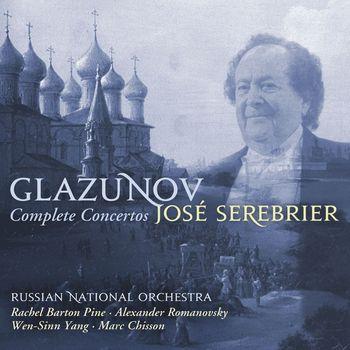 José Serebrier - Glazunov : Complete Concertos