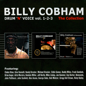 Billy Cobham - Drum 'n' voice vol. 1-2-3 The Collection