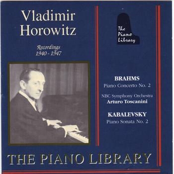 Vladimir Horowitz - Brahms: Piano Concerto No.2 - Kabalevsky: Piano Sonata No. 2