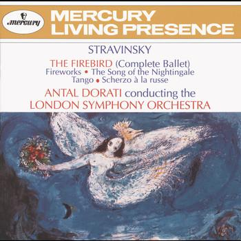 Antal Doráti / London Symphony Orchestra - Stravinsky: The Firebird; Fireworks; The Song of the Nightingale; Tango; Scherzo à la russe