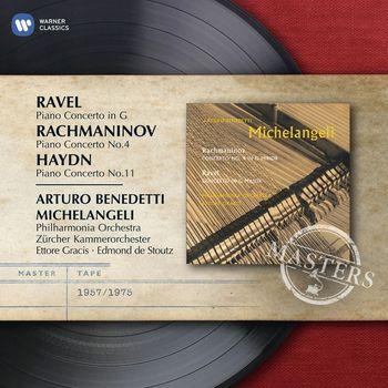 Arturo Benedetti Michelangeli - Haydn, Rachmaninov, Ravel: Piano Concertos