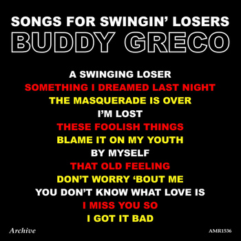 Buddy Greco - Songs for Swinging Losers