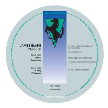 James Blake - CMYK EP