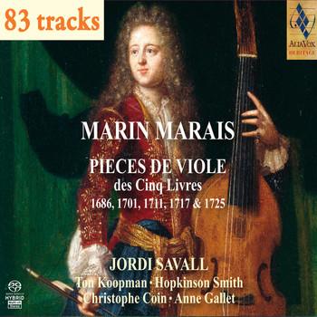 Jordi Savall - Marin Marais : 5 Livres pour Viole