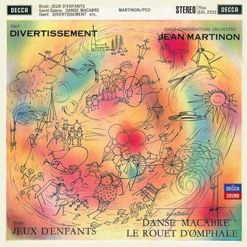 Jean Martinon / Paris Conservatoire Orchestra - Ibert: Divertissement / Bizet: Jeux D'Enfants