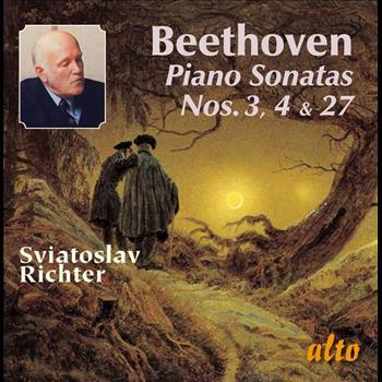Sviatoslav Richter - BEETHOVEN: Piano Sonatas Nos. 3, 4, & 27
