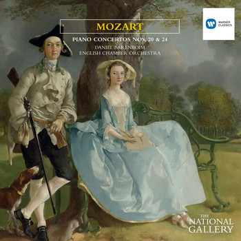 Daniel Barenboim/English Chamber Orchestra - Mozart: Piano Concertos Nos 20 & 24 [The National Gallery Collection]