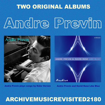 Andre Previn - Plays Songs By Vernon Duke and Like Blue