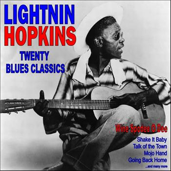 Lightnin' Hopkins - Wine Spodee O Dee: Twenty Blues Classics