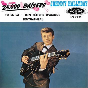 Johnny Hallyday - 24000 baisers, vol. 7 (Version coffret Les Années Vogue, vol. 2)